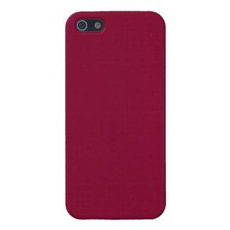 De rode Tendens van de Kleur van Bourgondië 2015 iPhone 5 Hoesje