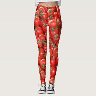 De rode Tomaten van de Wijnstok Leggings