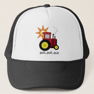 De rode Tractor van het Boerderij Trucker Pet