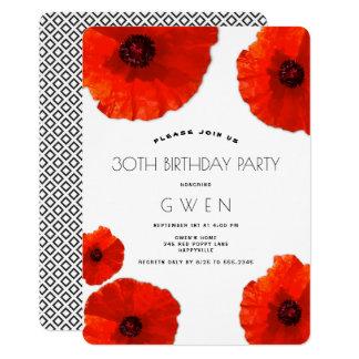 De rode Uitnodiging van de Partij van de