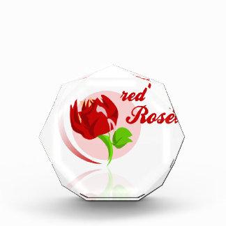De rode vijanden bloeien prijs