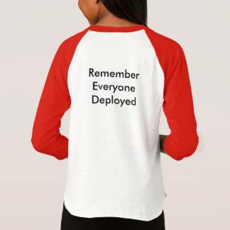 De rode Vrijdag van het Overhemd T Shirt