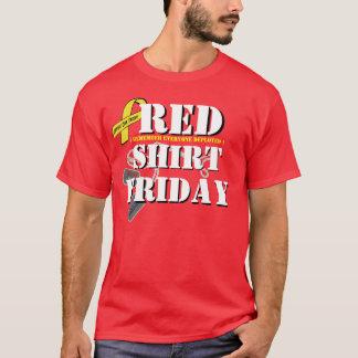 De rode Vrijdagen van het Overhemd T Shirt