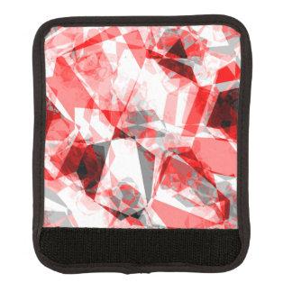 De rode, Witte & Grijze Geometrische Vormen van de Handvat Beschermer