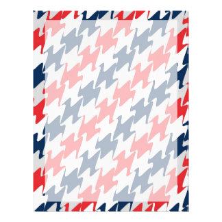 De rode Witte Marineblauwe Kleuren van het Gepersonaliseerde Folder