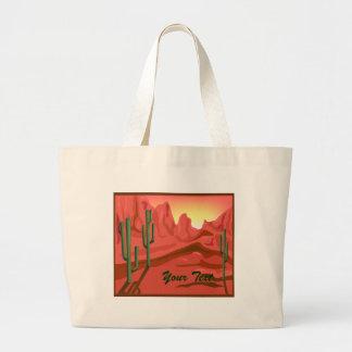 De rode Zak van het Canvas van Arizona van de Zons Grote Draagtas