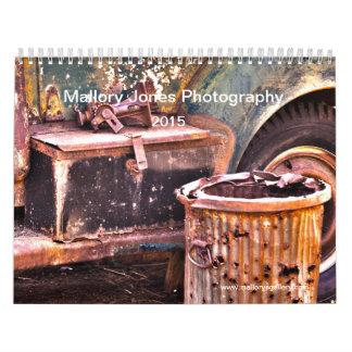 De roestige Oude kalender van HDR van Vrachtwagens