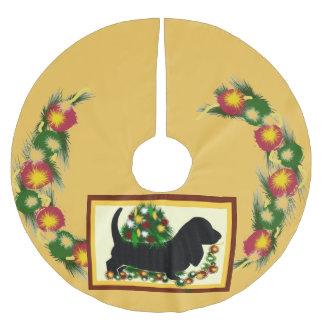 De Rok van de Hond ~Tree van Bassett Kerstboom Rok