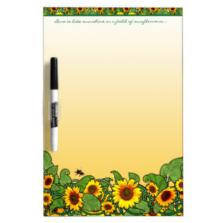 De Rol van de zonnebloem Whiteboards