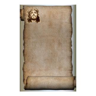 De rol van Jesus-Christus, Kroon van Doornen Briefpapier