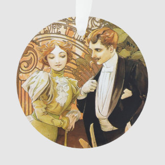 De Romantic Jugendstil van Alphonse Mucha Flirt