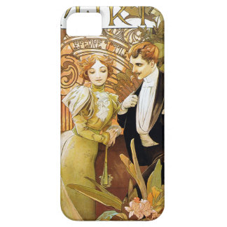 De Romantic Jugendstil van Alphonse Mucha Flirt Barely There iPhone 5 Hoesje
