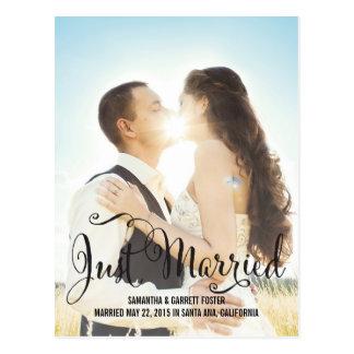 De romantische Aankondiging van het Huwelijk van Briefkaart