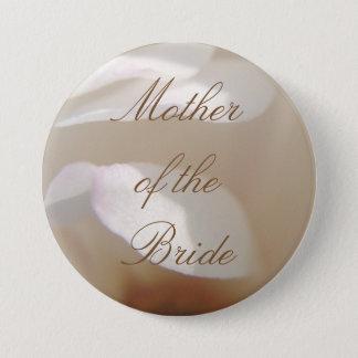 De romantische Bruids Knoop van de Magnolia van Ronde Button 7,6 Cm