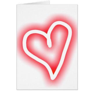 """De romantische kaart van de Valentijnsdag """"Squee"""""""