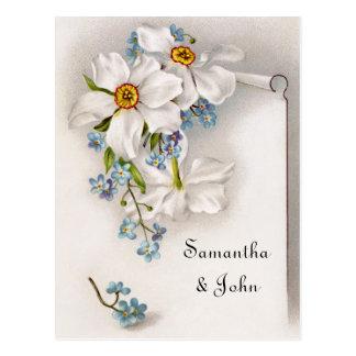 De romantische Wijnoogst bewaart de Datum Briefkaart