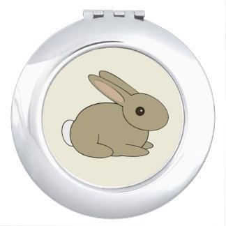 De ronde Spiegel van het Konijntje Reisspiegeltjes