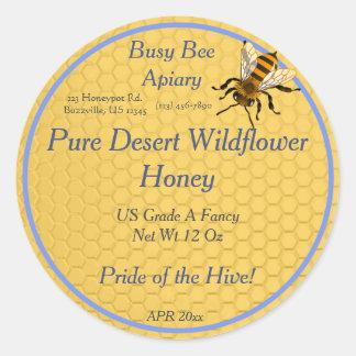 De Ronde van de honingraat met het Enige Etiket