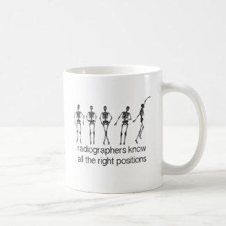 De röntgenologen kennen Alle Juiste Posities Koffiemok