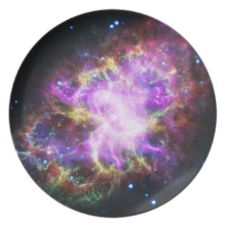 De röntgenstraal Chandra in de Nevel van de Krab Bord