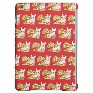De room Frenchie nodigt u aan haar pizzapartij uit