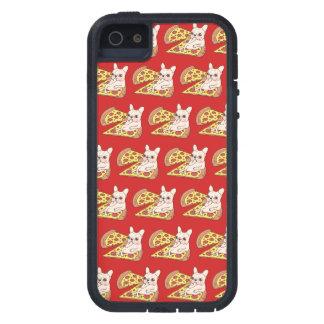De room Frenchie nodigt u aan haar pizzapartij uit Tough Xtreme iPhone 5 Hoesje