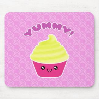 De Room Yummy Kawaii Cupcake Mousepad van de Muismat