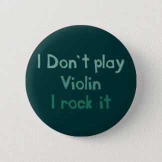 De Rots van de viool het Knoop Ronde Button 5,7 Cm