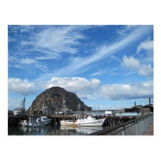 De Rots van Morro, Vissersboten en Embarcadero Briefkaart