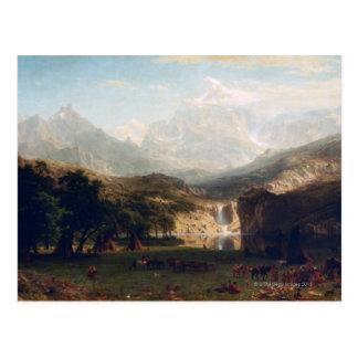 De rotsachtige Bergen Briefkaart