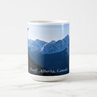 De rotsachtige Mok van de Koffie van Bergen