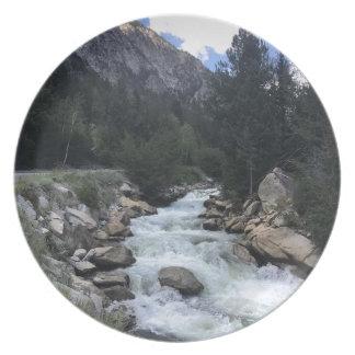De rotsachtige Stroom van de Berg Melamine+bord