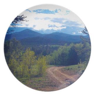 De rotsachtige Wildernis van de Berg Melamine+bord