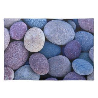 Stenen placemats stenen place mats stenen tafel onderlegger - Laag rots glazen tafel bobois ...
