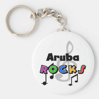 De Rotsen van Aruba Sleutelhanger