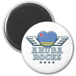 De Rotsen van Aruba v2 Koelkast Magneet