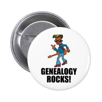 De Rotsen van de genealogie Speldje