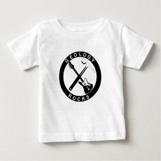 De Rotsen van de geologie zullen Babys zijn Baby T Shirts