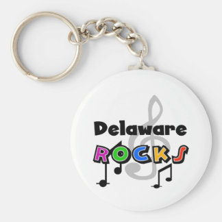 De Rotsen van Delaware Sleutelhanger