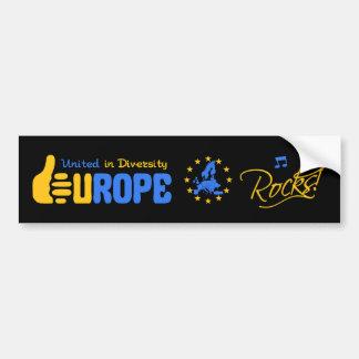 De Rotsen van Europa! bumpersticker