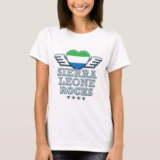 De Rotsen van het Sierra Leone v2 T Shirt