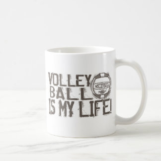 De Rotsen van het volleyball Koffie Mokken