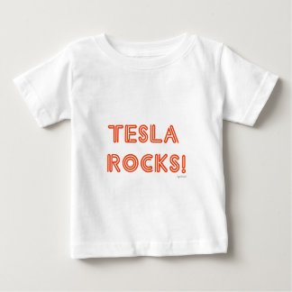 De Rotsen van Tesla! Baby T Shirts