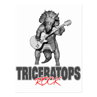 De Rotsen van Triceratops Briefkaart