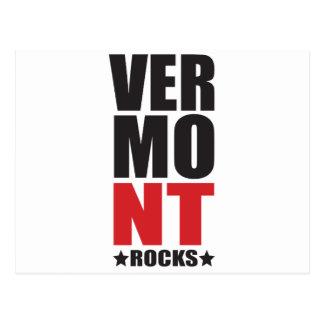 De Rotsen van Vermont! De Giften en de Kleding van Briefkaart