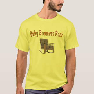 de rotst-shirt van babyboomers t shirt