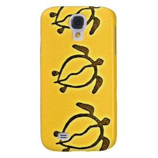 De Rotstekening van de Schildpad van Hawaï Galaxy S4 Hoesje