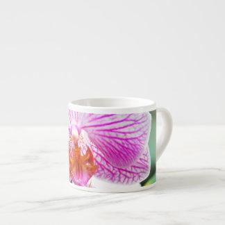 De Roze Aziatische Bloem van de orchidee Espresso Kop