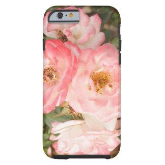 De roze Bloem nam iPhone 6 het Hoesje van de