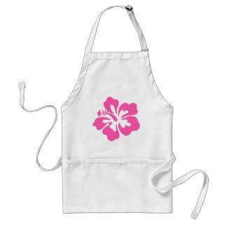 De roze Bloem van de Hibiscus Standaard Schort